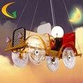 Современный мультфильм мальчик номер ребенок лампа детская спальня мультфильм люстра спальня исследование Привело люстры
