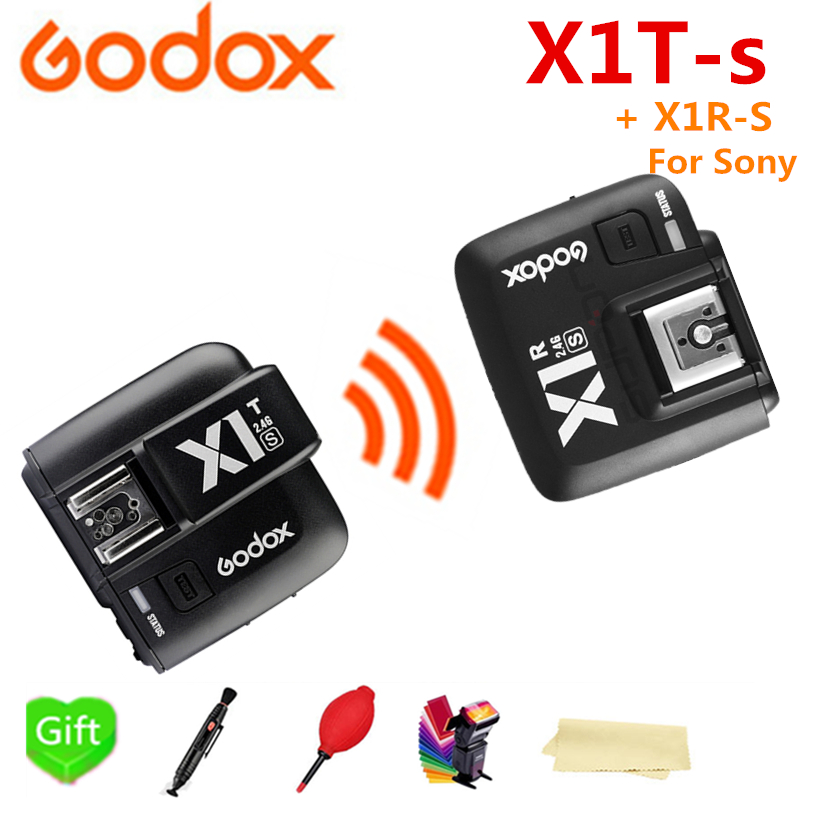 Godox X1T-S HSS TTL Wireless Flash Trigger Transmitter for Sony Camera + X1R-S Receiver for Godox V860II-S TT600S TT685-S Flash маска для волос nioxin маска питательная система 2 nioxin