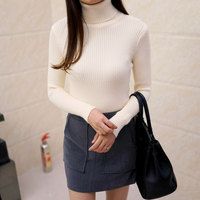 2016 Women S Slim Medium Long Turtleneck Sweater Thickening Sweater Knitting Sweater Pattern