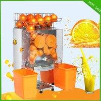 18 Новая бесплатная доставка Нержавеющаясталь автоматический медленно электрическая соковыжималка Orange сок машины холодный Пресс extractor фр