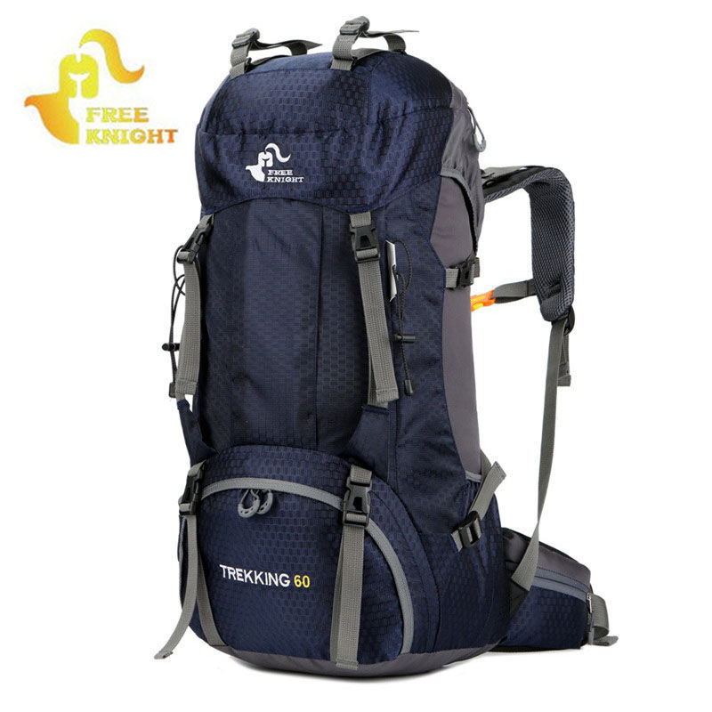 60l outdoor sports backpack camping mountaineering for Outdoor rucksack