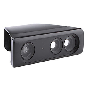 Image 1 - محول تخفيض نطاق مستشعر العدسة بزاوية واسعة للتكبير الكبير لـ Microsoft Xbox 360 Kinect لعبة فيديو حساس حركة للوحة اللعب