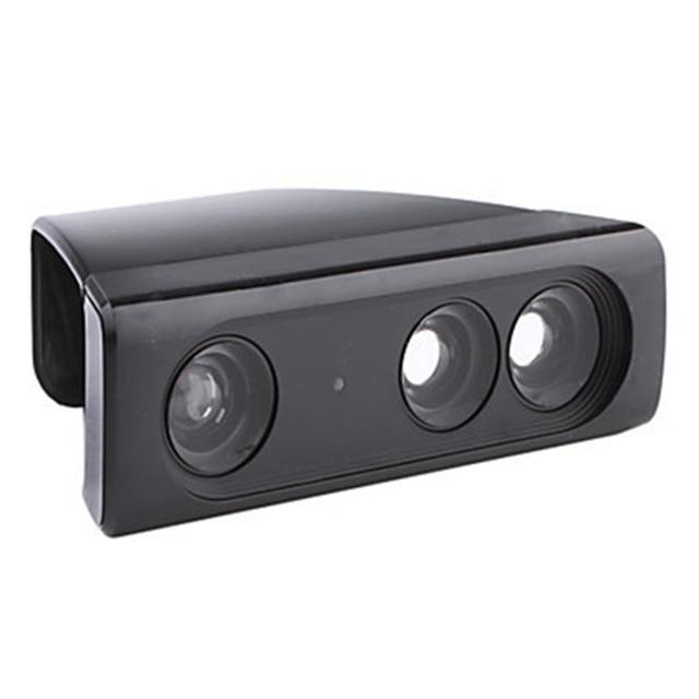 محول تخفيض نطاق مستشعر العدسة بزاوية واسعة للتكبير الكبير لـ Microsoft Xbox 360 Kinect لعبة فيديو حساس حركة للوحة اللعب