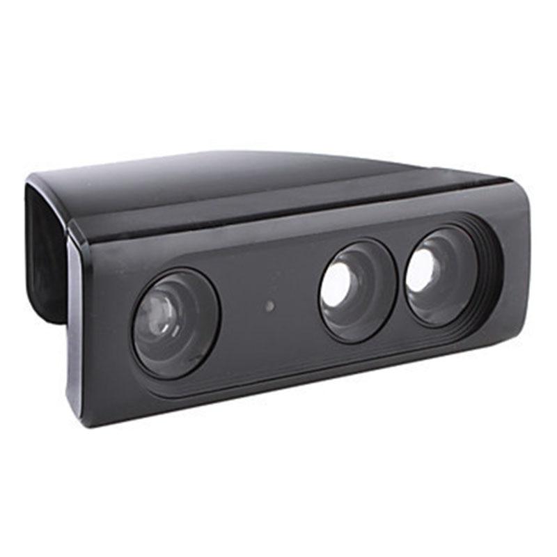 Super Zoom Wide-Angle Lens Sensor Range Reduction Adapter for Microsoft Xbox 360 Kinect Video Game Gamepad Movement Sensor