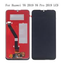 6.01 המקורי מסך עבור Huawei Y6 פרו 2019 Y6 ראש 2019 LCD תצוגת tdigitizer רכיב להחליף עבור Y6 2019 תצוגה + כלים
