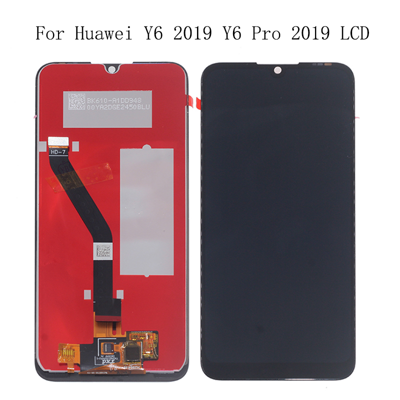 6.01'' Original screen For Huawei Y6 PRO 2019 Y6 Prime 2019 LCD Display tdigitizer component replace for Y6 2019 display+Tools-in Mobile Phone LCD Screens from Cellphones & Telecommunications