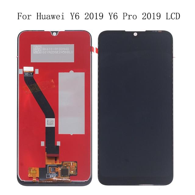 6.01 dello schermo Originale Per Huawei Y6 PRO 2019 Y6 Prime 2019 Display LCD tdigitizer componente sostituire per Y6 2019 display + Strumenti