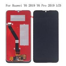 Pantalla Original de 6,01 pulgadas para Huawei Y6 PRO 2019 Y6 Prime 2019 LCD pantalla tdigitalizador componente reemplazo para Y6 2019 pantalla + herramientas