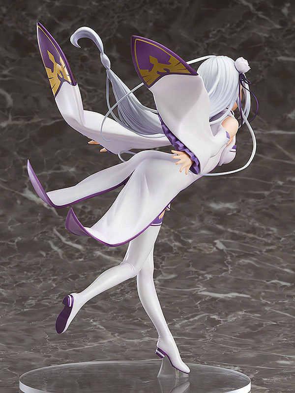 Аниме Re: Zero KARA Hajimeru Isekai жизнь в другой мир Emilia девушка игрушечных пластиковых экшн фигурок из фигурная Смола Коллекция Модель игрушка; подарок Косплэй