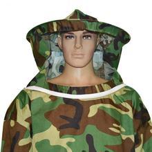 Новая защита от пчел куртка костюм, профессиональный пчеловод длинный рукав Топ и дышащая шляпа с вуалью