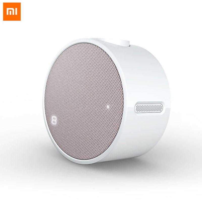 Original Xiaomi Mi Music Alarm Clock Portable Speaker Bluetooth 4.1 10M Smart Phone Mijia APP Remote Control 2600mAh Battery divoom timebox mini portable bluetooth smart alarm clock speaker with app compatible for ios android xiaomi