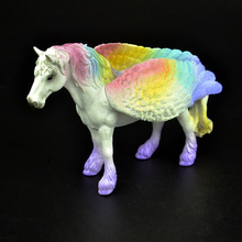 Colorful Rainbow Unicorn Figurine