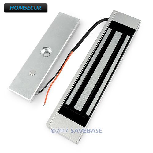 HOMSECUR Waterproof 180KG 390lbs Electric Magnetic Lock For Access Control System Door Phone System