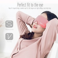 Graphene Therapy Heated Eye Mask Lycra Fabric Eye Patch Fatigue Relief Eye Massager
