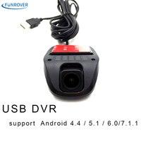 راديو السيارة usb ميناء سيارة كاميرا داش كاميرا كامل hd الروبوت dvd لاعب usb 2.0 dvr ل الروبوت 4.4 الروبوت 5.1 الروبوت 6.0 os
