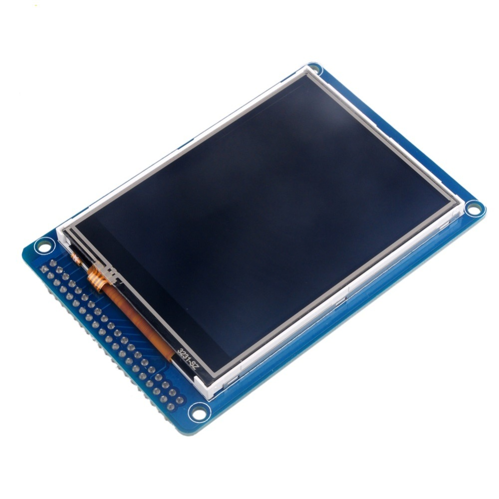 3.2 inch TFT LCD Display Screen Touch Panel with ILI9341 Controller for Arduino Mega RCmall FZ0527