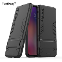 For Xiaomi Mi 9 Case Luxury Robot Hard Back Phone Back Case For Xiaomi Mi 9 Cover For Xiaomi Mi 9 Coque Mi9 Fundas 6.39 xiaomi mi 9 case silm shockproof cover luxury ultra thin smooth hard pc phone case for xiaomi mi 9 back cover for xiaomi mi9