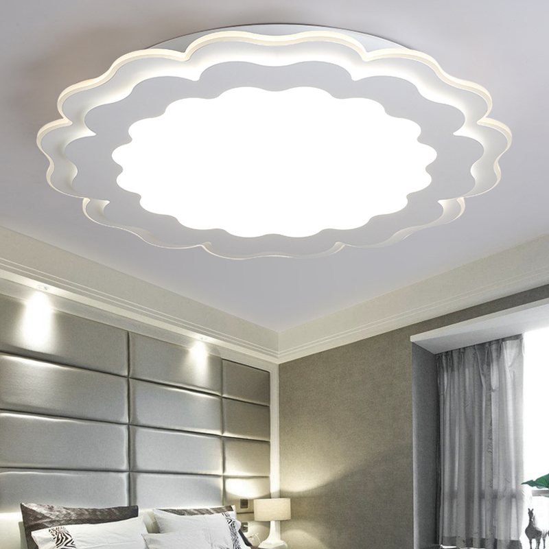 Modern ceiling lights livingroom bedroom acrylic lamp design plafonnier lighting fixtures lamparas de techo lamp moderne ceiling in ceiling lights from
