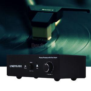Image 1 - MM RIAA Turntable Fono Preamp AUX Girişi Ses Sinyali Ön Amplifikatör Volumer
