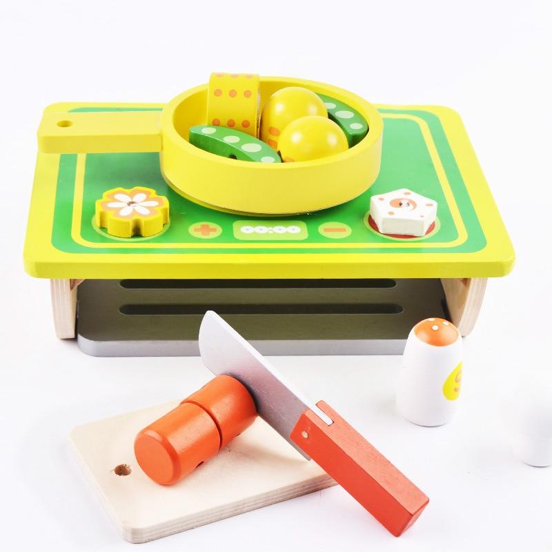 척 장난감, 부모-자식 상호 작용 나무 장난감 어린이 - 역할연기 - 사진 3