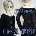 1/4 1/3 SD17 uncle BJD SD Doll accessories Bjd clothes black T-shirt