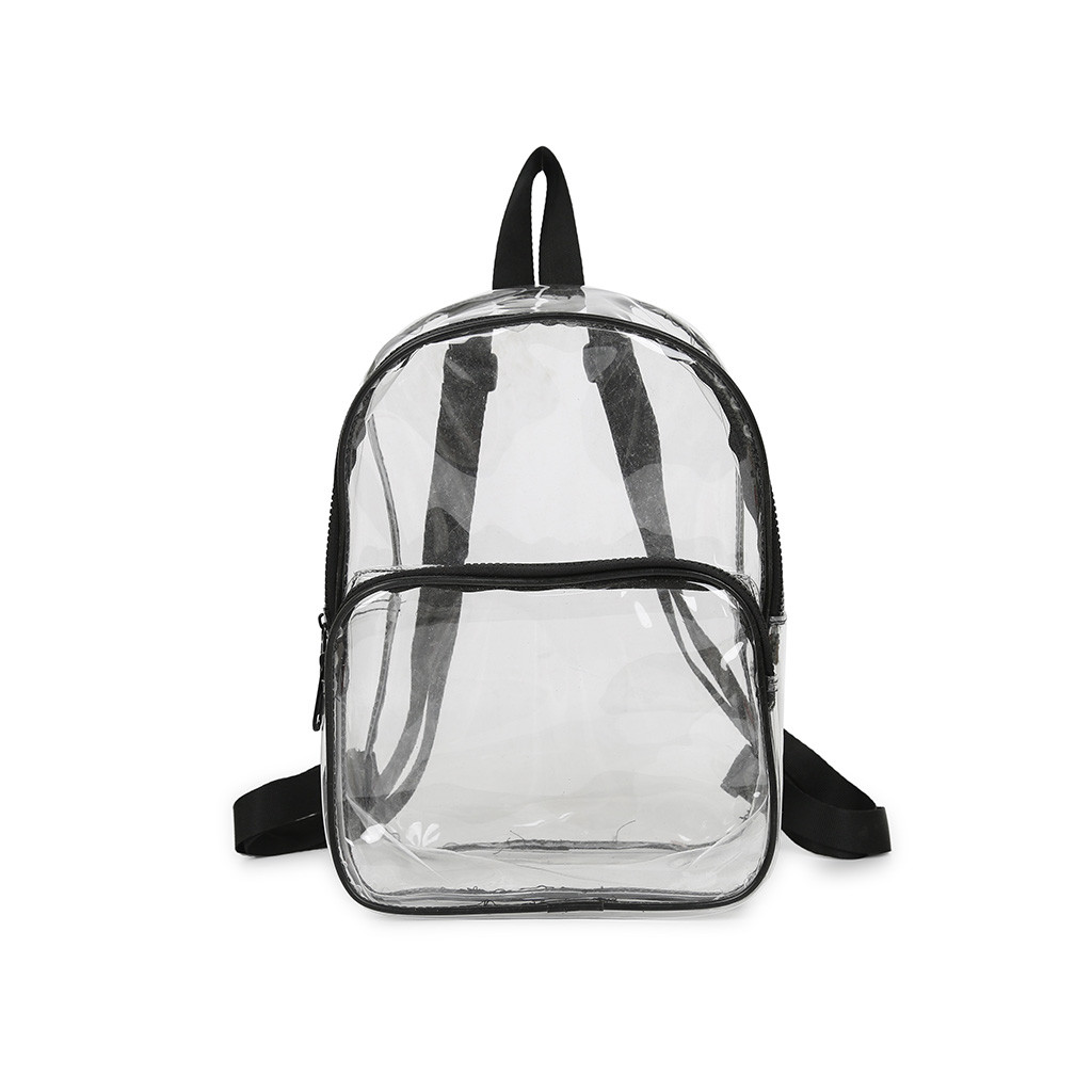 OCARDIAN Fashion Women Backpack Transparent Versatile Student Bags High Quality Youth Leather Backpacks Spring New Fashion 94350