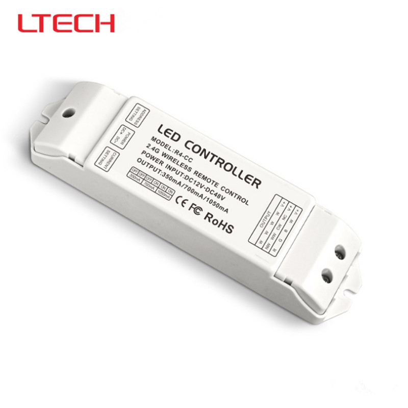 New ltech R4-CC Constant Current receiver WiFi 104 led controller dmx signal driver 2.4G wireless led Receiver Free Shipping купить