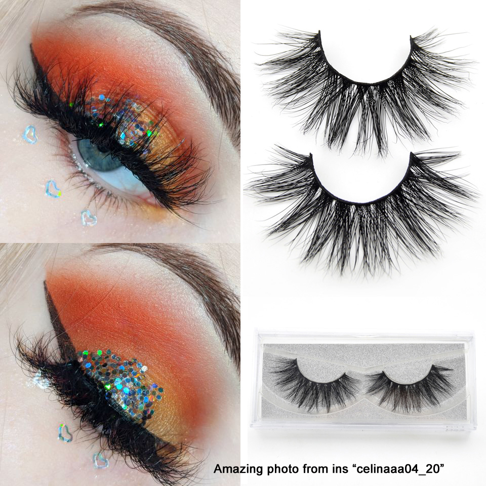 c324c9217e0 Visofree eyelashes 3D mink eyelashes long lasting mink lashes natural  dramatic volume eyelashes extension false eyelashes D22