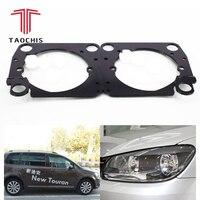 Taochis Car Styling frame adapter module DIY Bracket Holder for VW Volkswagen Touran 2013 2015 Hella 3 5 Q5 Projector lens