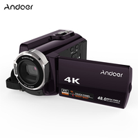 Andoer HDV 534K 4K 48MP WiFi Video Camera Digital 1080P Full HD 3inch Capacitive Touchscreen IR