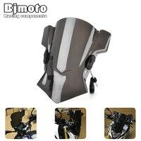 Bjmoto Moto Steer biker Windshield Windscreen bracket For BMW R Nine T RNineT R1200RS R1200RT S1000R 22mm 25mm 28mm Handlebar
