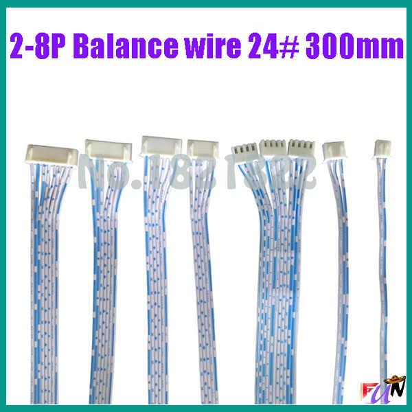 2-8 P 24awg Баланс провода сигнала небольшой провод 2468 24 # провод 300 мм