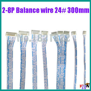 2-8P 24awg Balance wires signal small wire 2468 24# wire 300mm