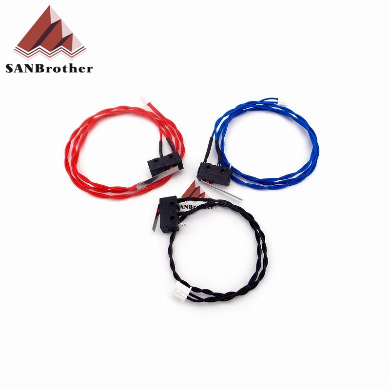 UM2 3D ultimaker 2 extendida + interruptor de límite kit rojo azul negro Cable tope final HX2.54 conector