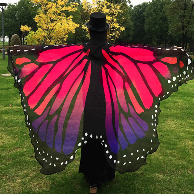 Beach Cover Up Butterfly Wing Cape