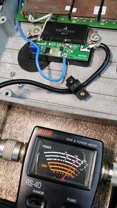 Image 2 - Küçük Repeater 410 470 MHZ 20 W UHF rf radyo güç amplifikatörü AMP 450C Röle 433 MHZ dijital radyo istasyonu