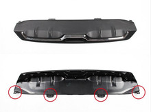 For 10th Generation Civic (Sedan) 2016 2017 Original Rear Bumper Cover Lip Diffuser Upgrade Replacement Kit