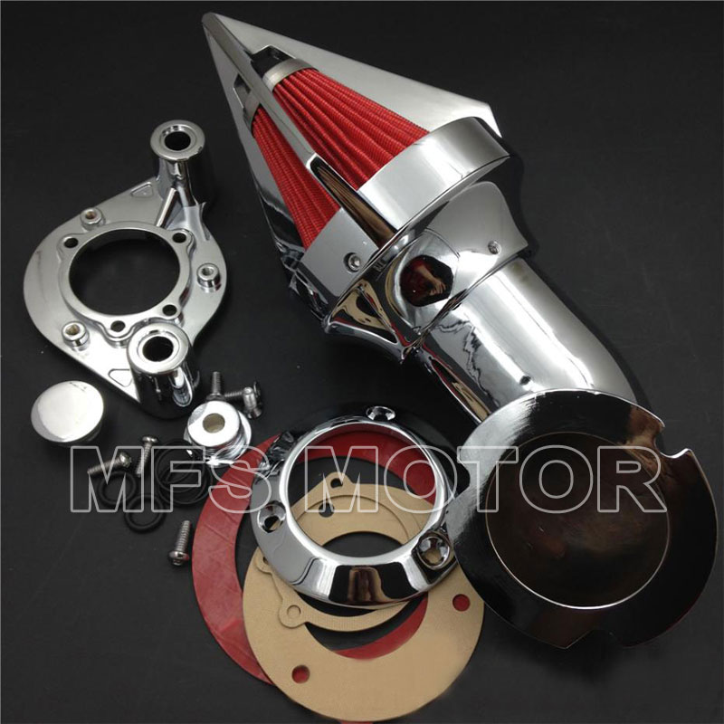 Motorcycle parts Cone Spike Air Cleaner for Harley Davidson