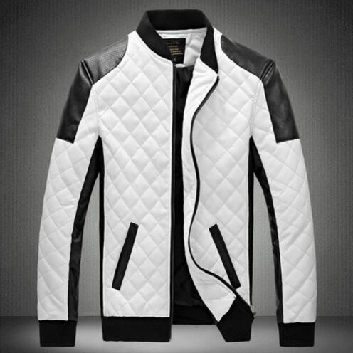 Man Lether Jackets Man Made Leather Jaquetas Masculinas Inverno Couro Jacket Men Jaquetas De Couro Men's Winter Leather Jacket