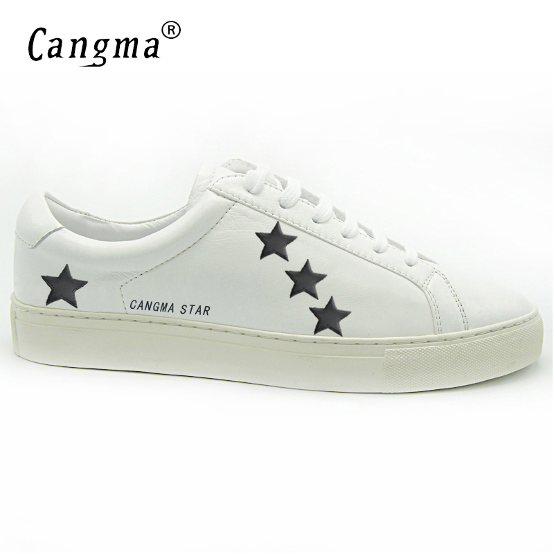 1f02258d2 CANGMA Italy Original Deluxe Oro Superstar Shoes Men Genuine Leather Low M Casual  Star White Shoes Brand Scarpe Blanche-in Men's Casual Shoes from Shoes