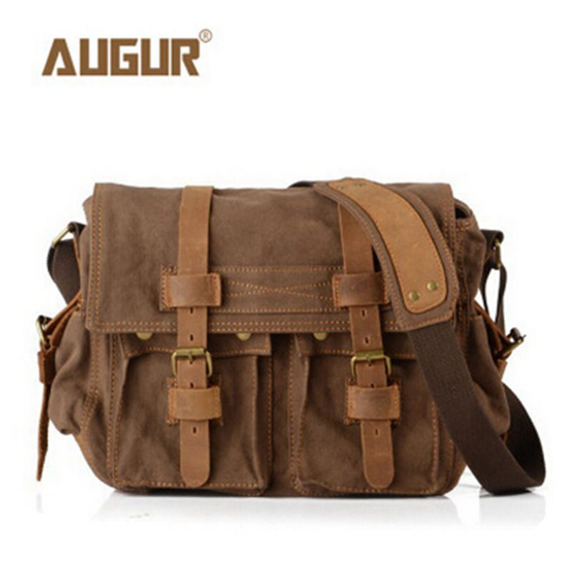 2016 New High Quality Canvas Vintage Messenger Bags  Military Should Crossbody Bag Big Capacity Men's Travel Bags Free Shipping casual canvas women men satchel shoulder bags high quality crossbody messenger bags men military travel bag business leisure bag