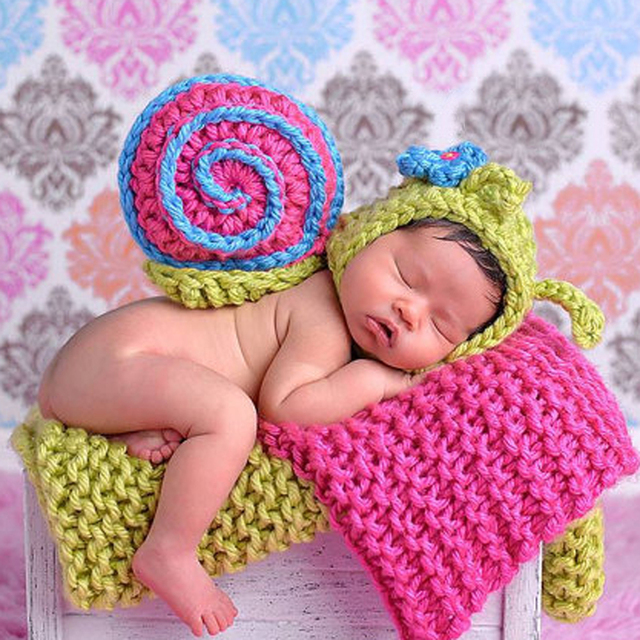 Bebé recién nacido Punto de ganchillo suéter de dibujos animados ...