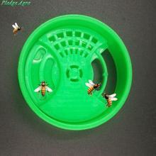 5 шт. тип улей двери Пчеловодство инструменты Пчеловодство Дом Гнездо ворота гнездо оборудование пластик beeing вход диск вентиляционное отверстие