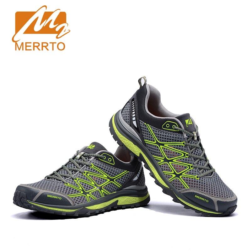 8ee2adb5934d MERRTO 2016 в Бразилии удобная прогулки кроссовки мужчины мотыги Открытый  дышащий Массаж обувь легкая обувь на