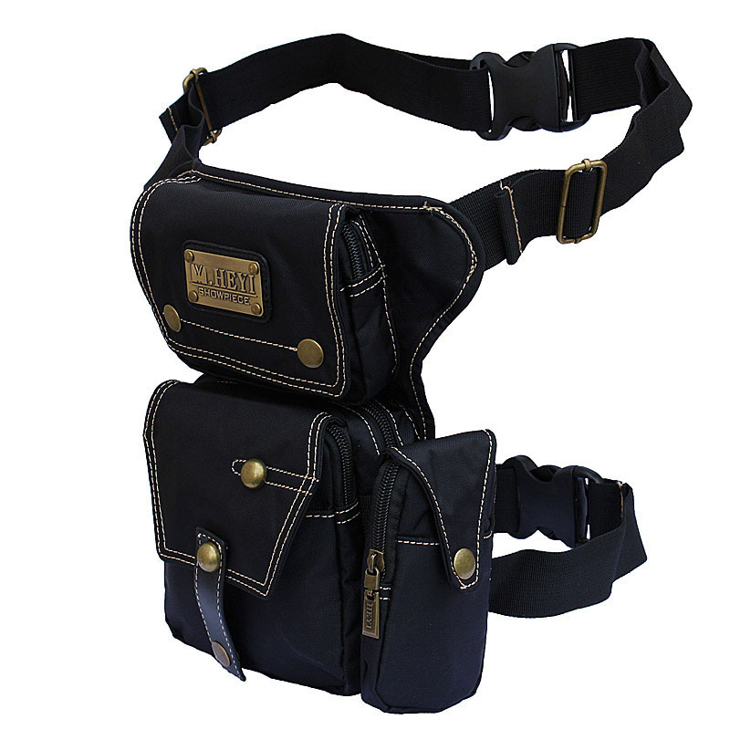 Multi-function legs tactical outdoor pockets male military enthusiasts cache mobile wallet recreational riding saddle bags