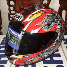 X12 SHOEI шлем Китайский дракон мотогонок шлем полной шлем Четыре Сезона мужчин и женщин, Capacete