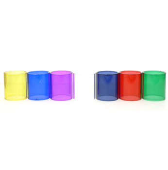 Replacement Glass Tube Cap For LEMO 2 21mm Diameter Electronic Cigarette Accessories