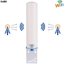 KuWFi 3 جرام/4 جرام LTE هوائي SMA ذكر 2.4 جيجا هرتز هوائي خارجي 3 جرام الداعم هوائي مع كابل ل جهاز تقوية الإشارة GSM مكرر Wifi Rout