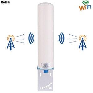 Image 1 - KuWFi 3G/4G LTE Antenna SMA maschio 2.4Ghz Antenna esterna 3GBooster Antenna con cavo per ripetitore ripetitore segnale GSM Wifi Rout