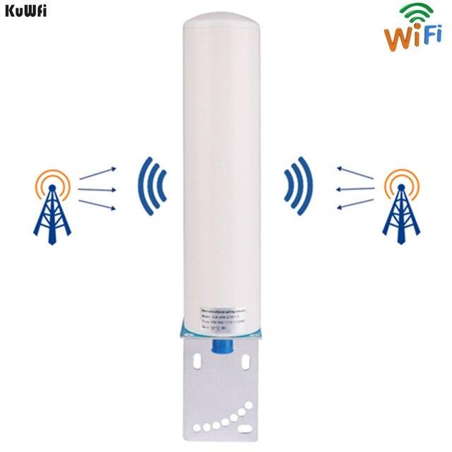 KuWFi 3G/4G LTE Antenna SMA maschio 2.4Ghz Antenna esterna 3GBooster Antenna con cavo per ripetitore ripetitore segnale GSM Wifi Rout